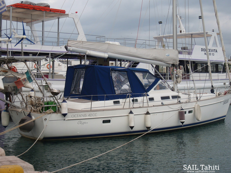 Oceanis Clipper 42CC - Full Winter Cover