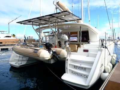 Lagoon 400 - owners version - Reverie - for sale in Tahiti