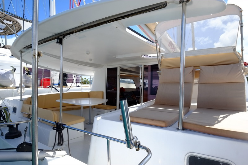 Fountaine Pajot Orana 44 catamaran for sale in Tahiti