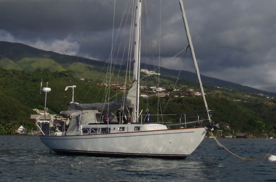 Spender 42 Classic Sailboat for sale in Tahiti