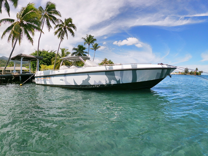 Couach Hornet 1300 power boat for sale in Tahiti