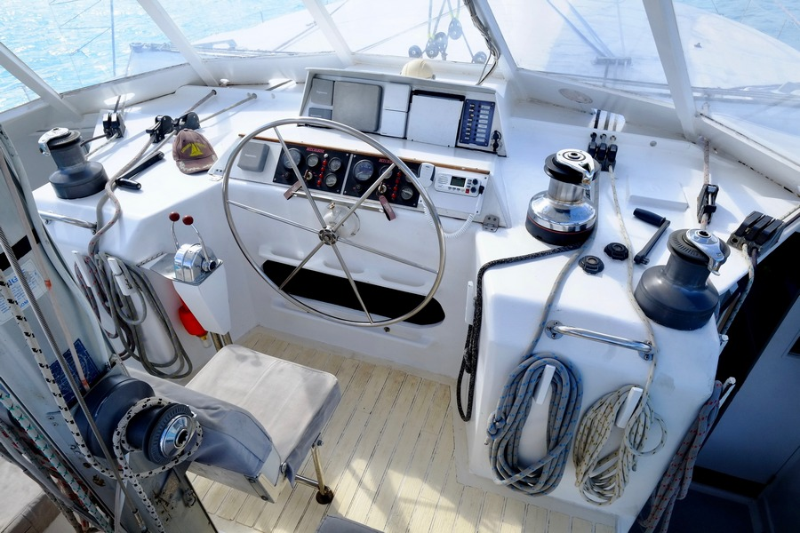 Crowther Nordest 63 Custom Catamaran - Catafjord for sale with Sail Tahiti Brokerage