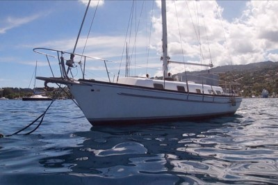 Gulfstar 37 monohull sailboat for sale in Tahiti