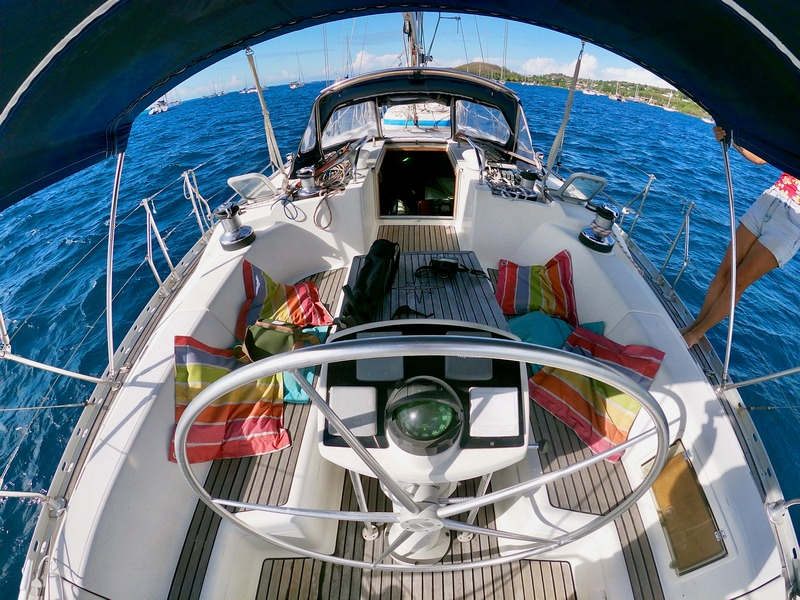 Sun Odyssey 42 cruising monohull for sale in Tahiti