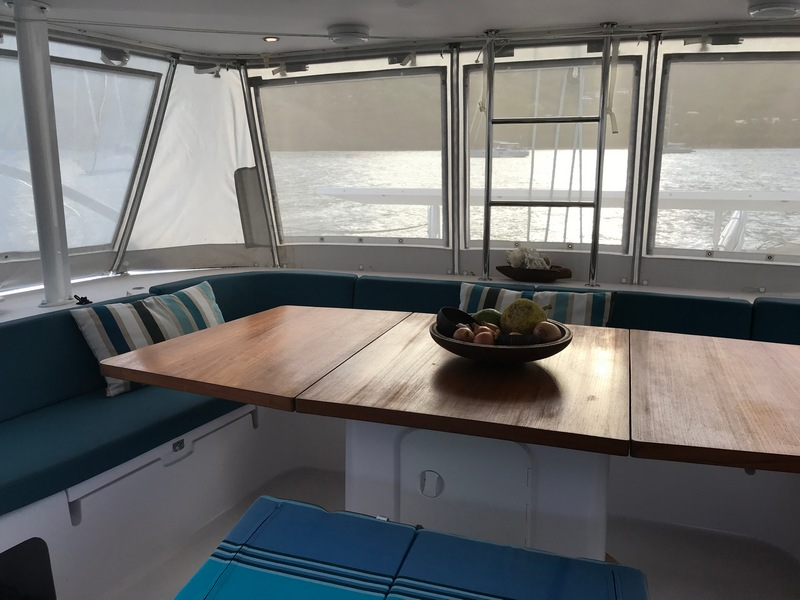 Outremer 51 from 2017 for sale in Tahiti
