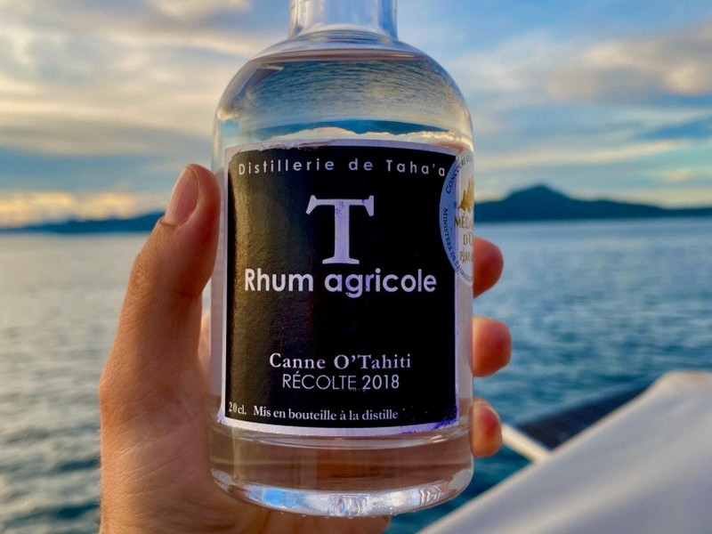 Rhum made in French Polynesia - Distillerie de Tahaa