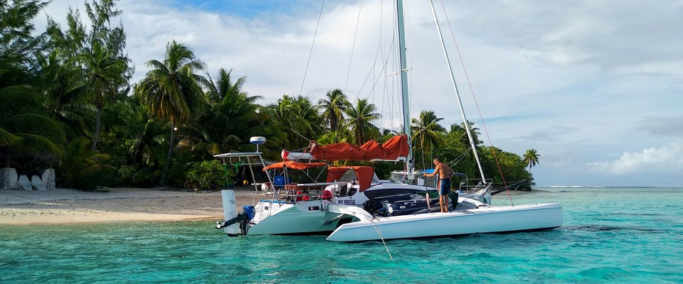 Corsair 37 in Tahiti