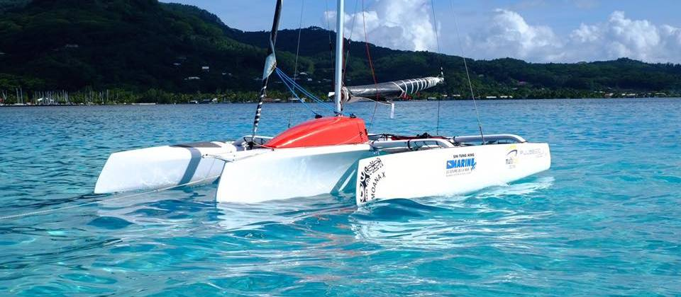 Corsair Pulse 600 Trimaran in Tahiti