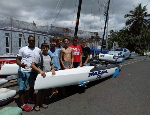Les Nacra 15 débarquent à Tahiti !