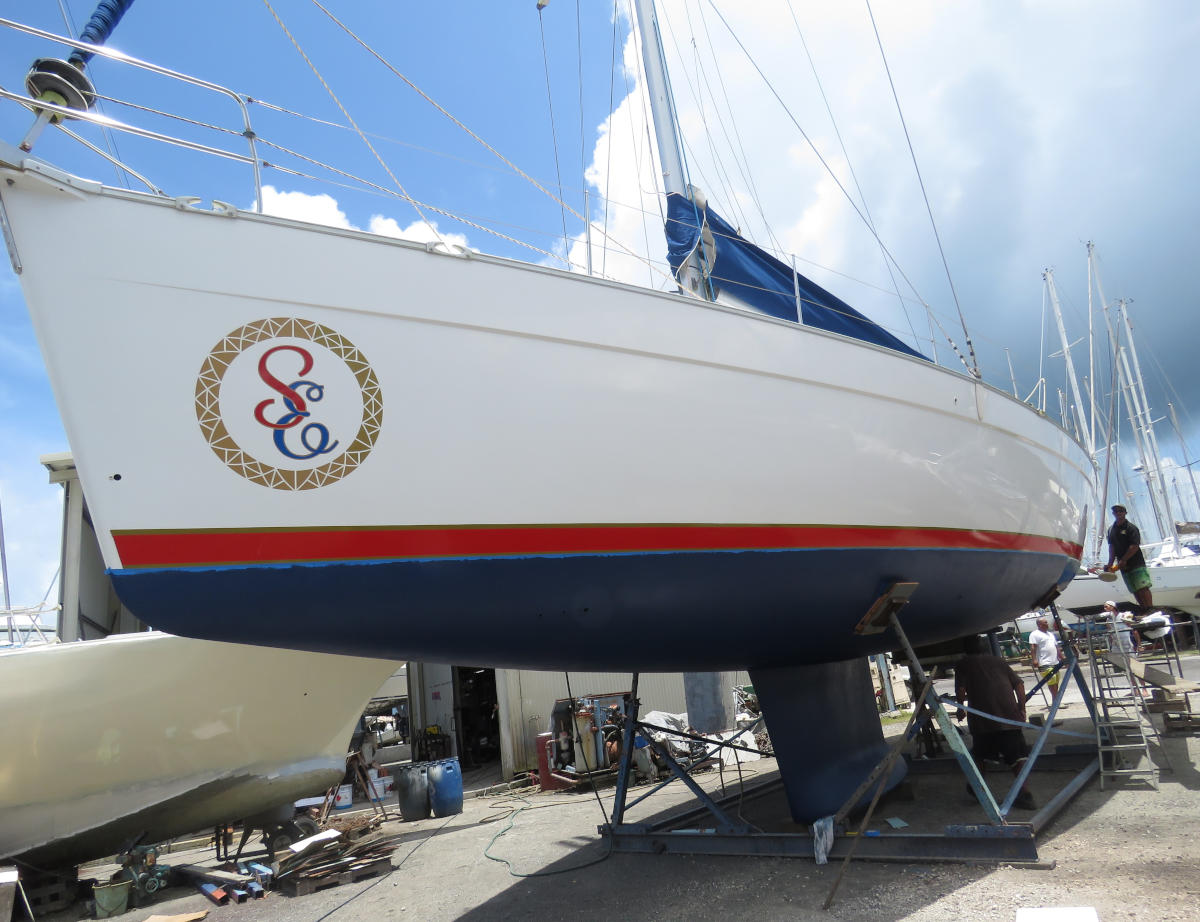 Beneteau Cyclades 50 monohull sailboat for sale in Tahiti