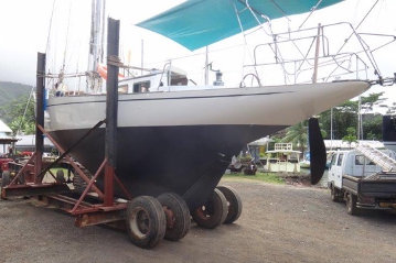 Classic boat from Bonnin boat yard, yawl 40ft for sale in Tahiti