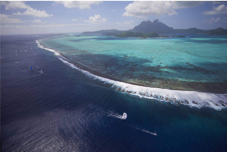 Best of the Tahiti Pearl Regatta, match racing with Loic Peyron and more