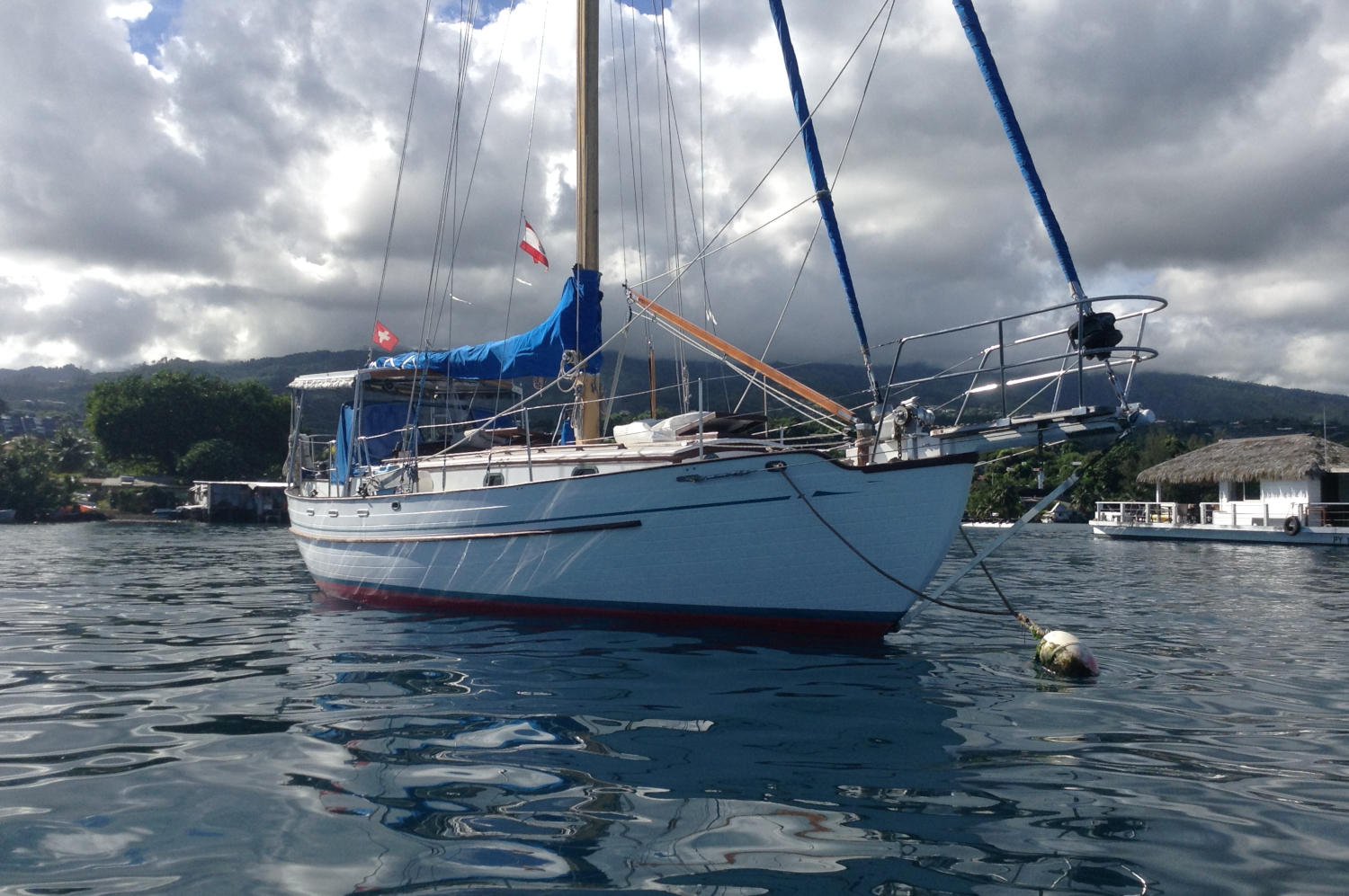 Tayana 37 for sale in Tahiti