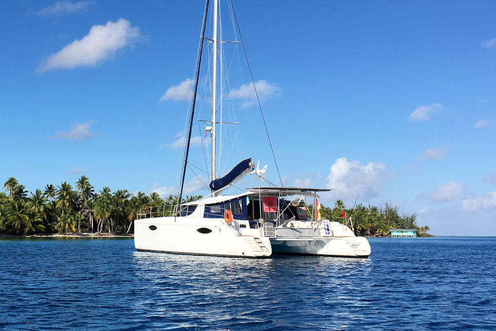 Fountaine Pajot Orana 44 - Amora for sale in Tahiti
