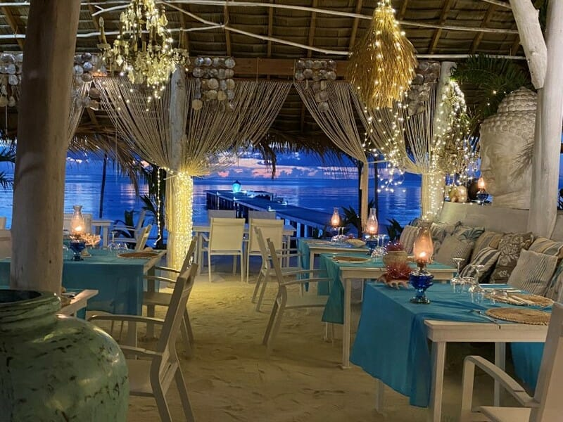 Restaurant in Raiatea French Polynesia