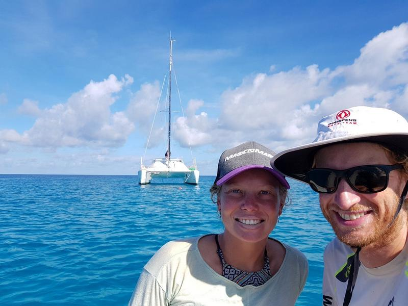 our catamaran for exploring french polynesia