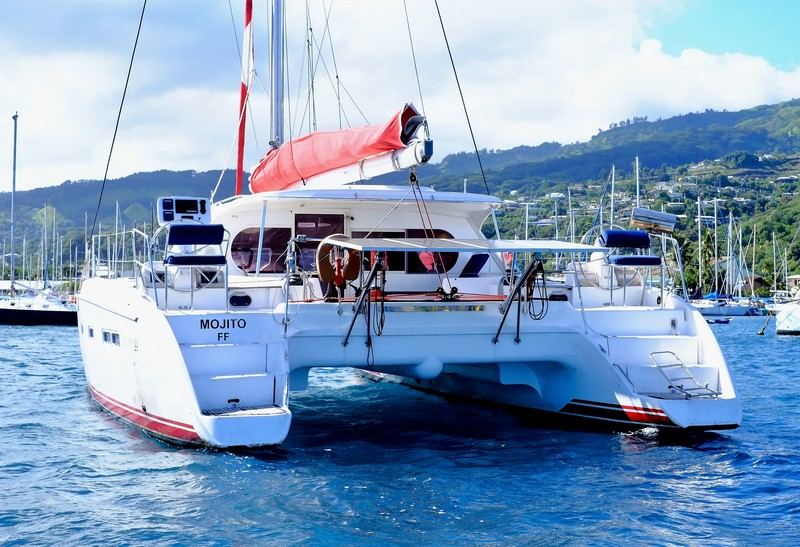 Nautitech 44 for sale in Tahiti