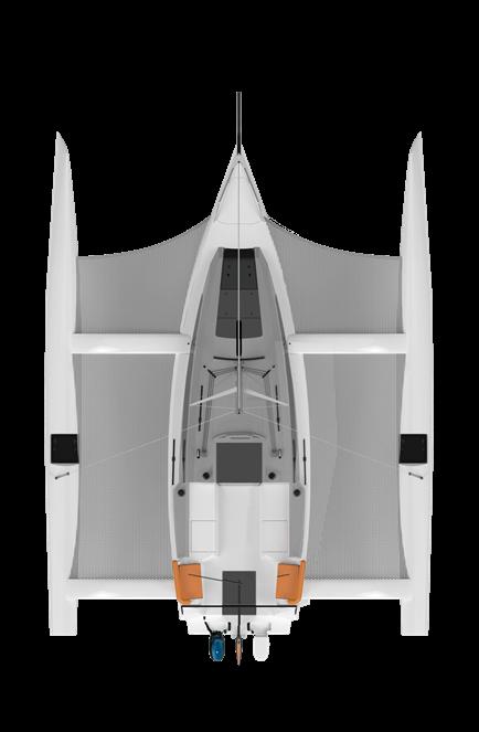 Corsair 880 Trimaran