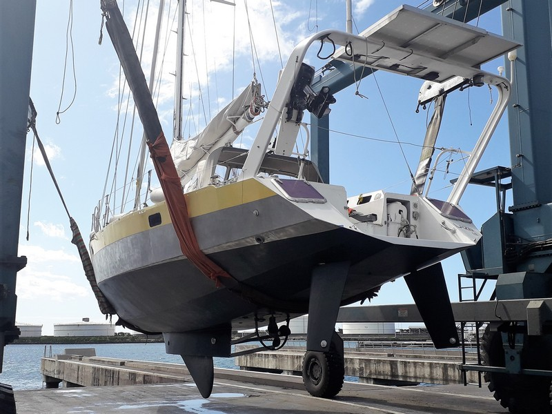 Plan Joubert Aluminium lifting keel for sale in Tahiti