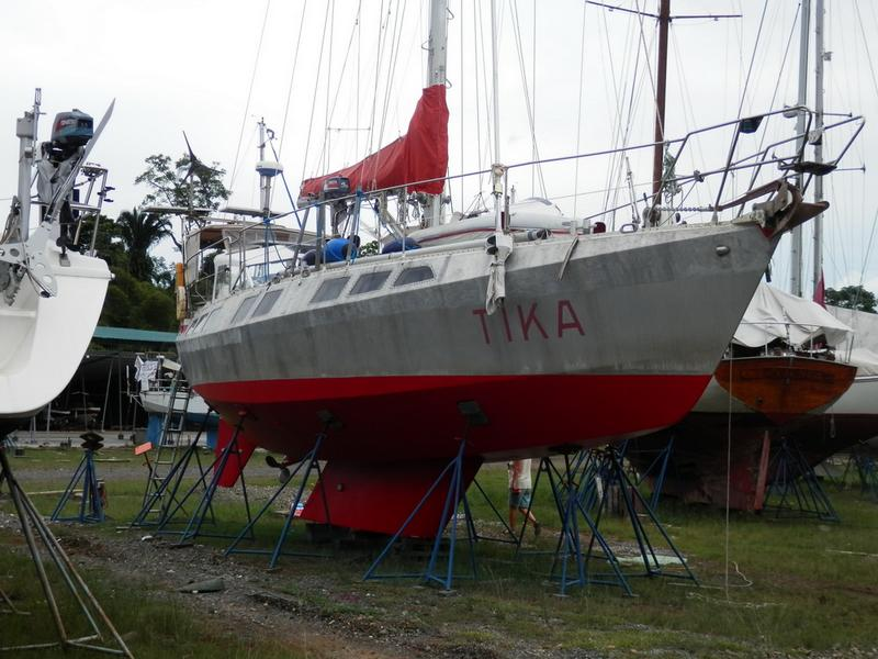 Reinke 14m aluminium sailboat for sale in Tahiti