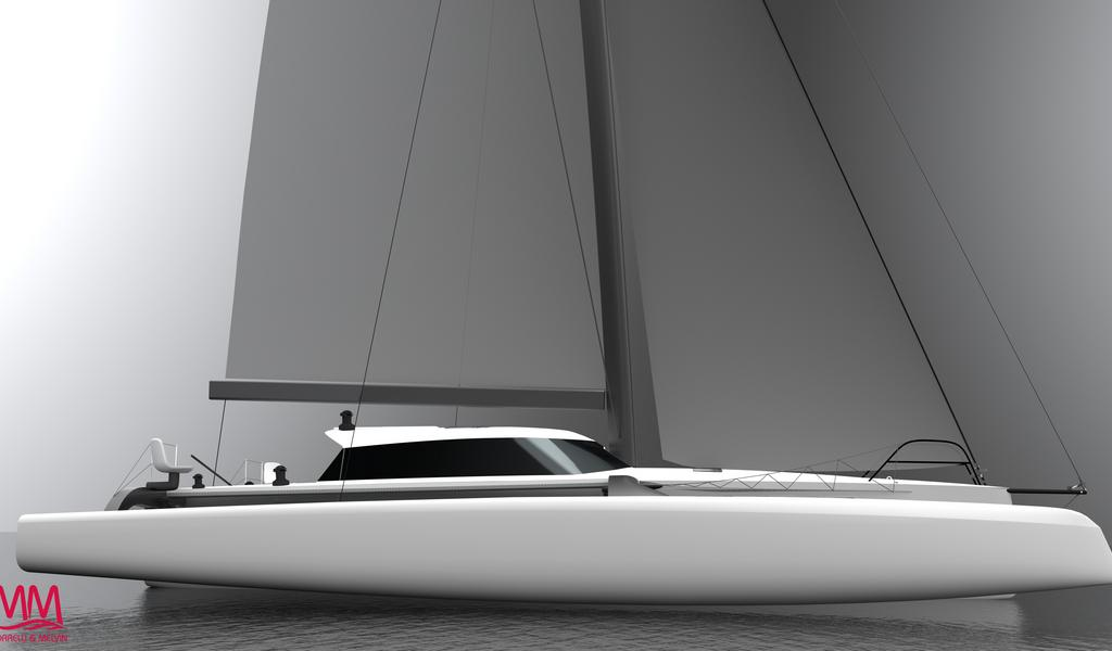 Rapido 40 Trimaran available in French Polynesia