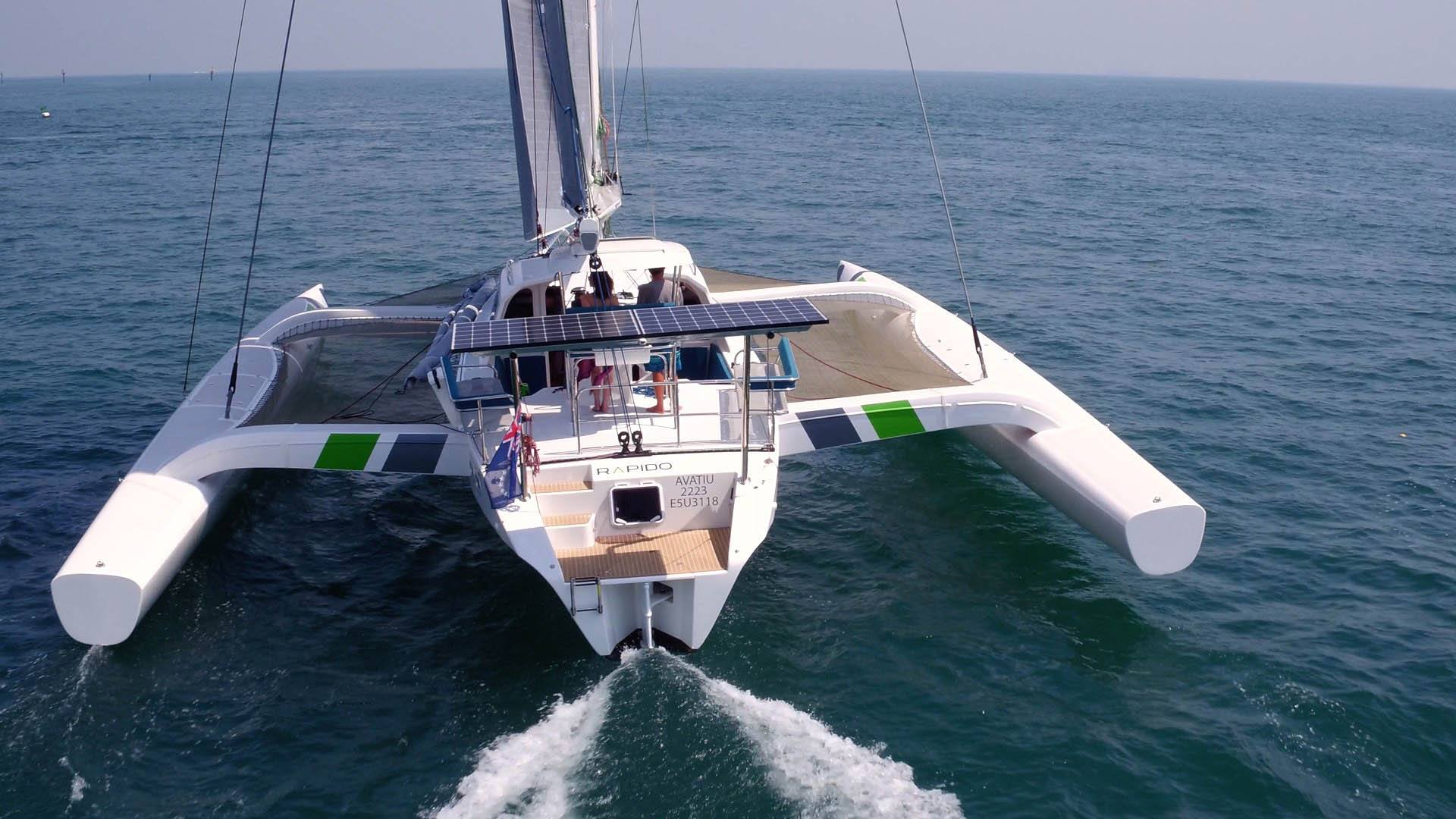 Rapido Trimarans - spacious and comfortable
