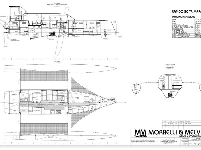 Rapido 50 Trimaran Morrelli and Melvin design