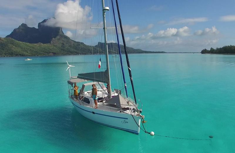 Atlantis 400 aluminium sailboat for sale in Tahiti