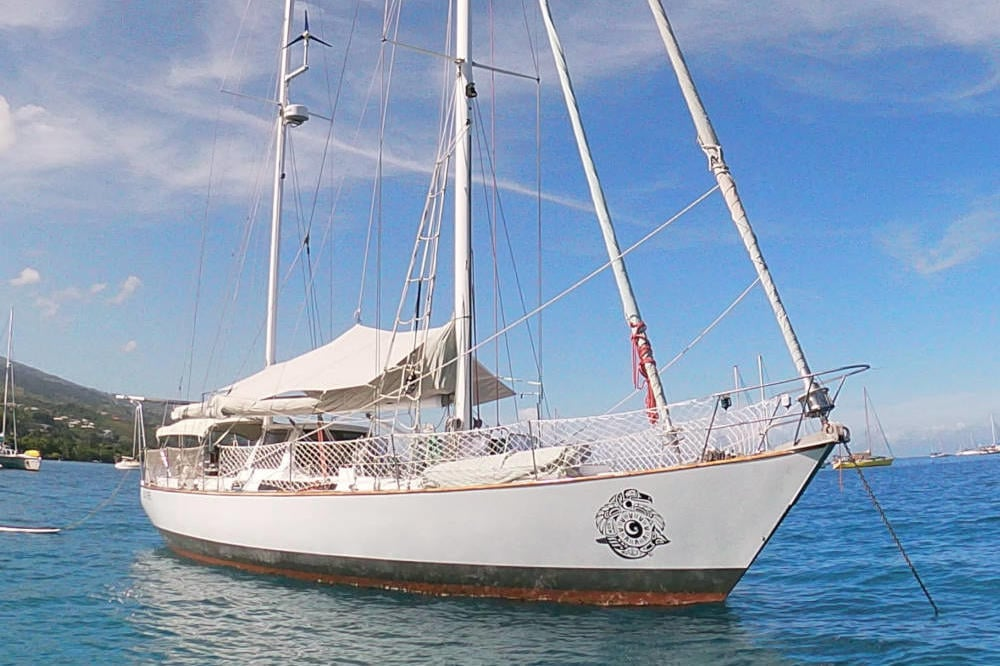 Skye 51 ocean cruising ketch for sale in Tahiti