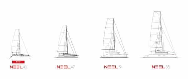Neel Trimarans latest models